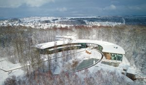 Cloef-Atrium im Winter
